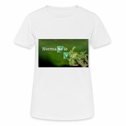 Normandie Vap' - T-shirt respirant Femme