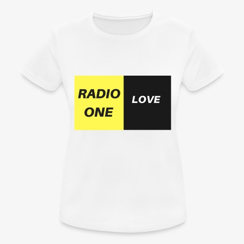 RADIO ONE LOVE - T-shirt respirant Femme