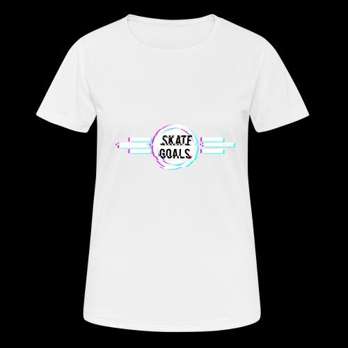 GLITCH SERIES - Vrouwen T-shirt ademend actief