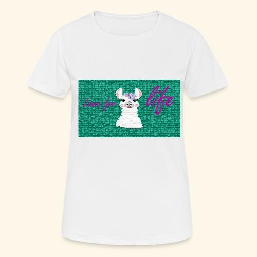 lama / alpaca - Frauen T-Shirt atmungsaktiv
