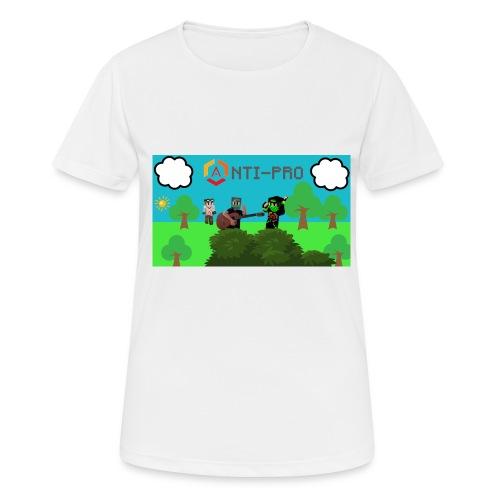 Maglietta Immagine Mario Anti-Pro - Maglietta da donna traspirante