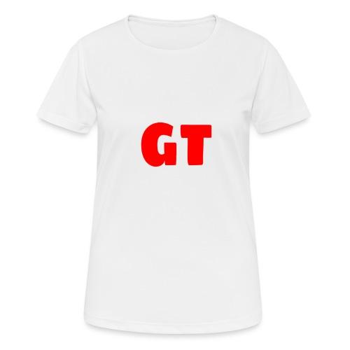 GT Logo - Vrouwen T-shirt ademend actief