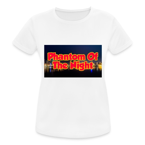 Phantom Of The Night Official Wear - Women's Breathable T-Shirt