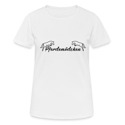 Pferdemädchen - Frauen T-Shirt atmungsaktiv