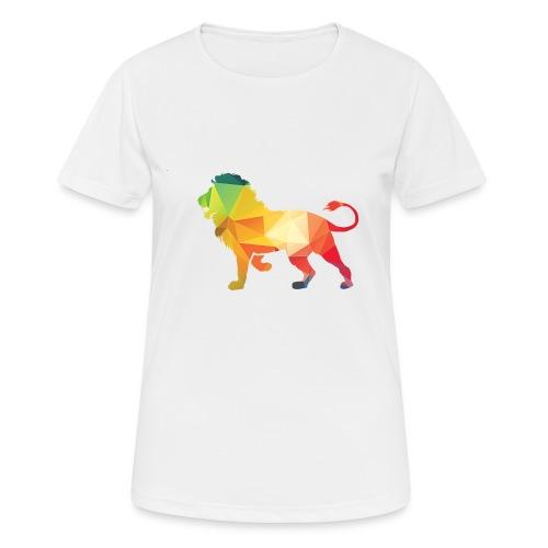 lion - vrouwen T-shirt ademend