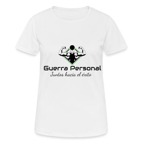Guerra Personal - Camiseta mujer transpirable
