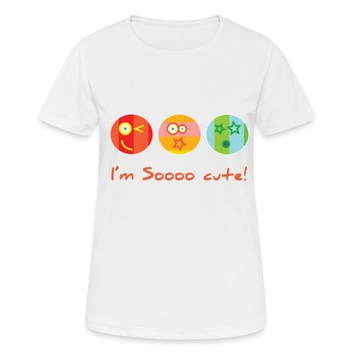 Sooo Cute - Vrouwen T-shirt ademend actief