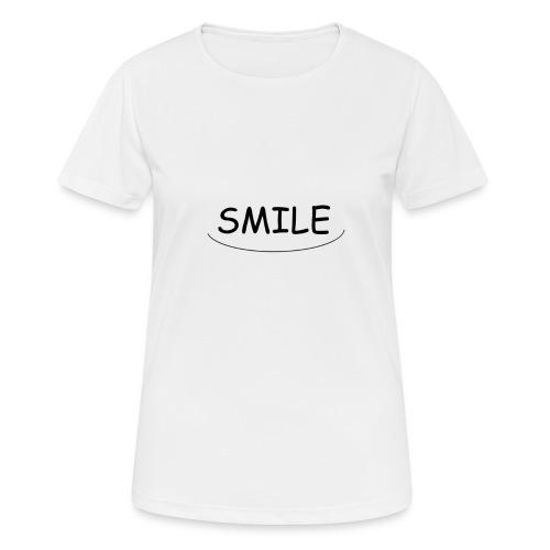 Smile - T-shirt respirant Femme