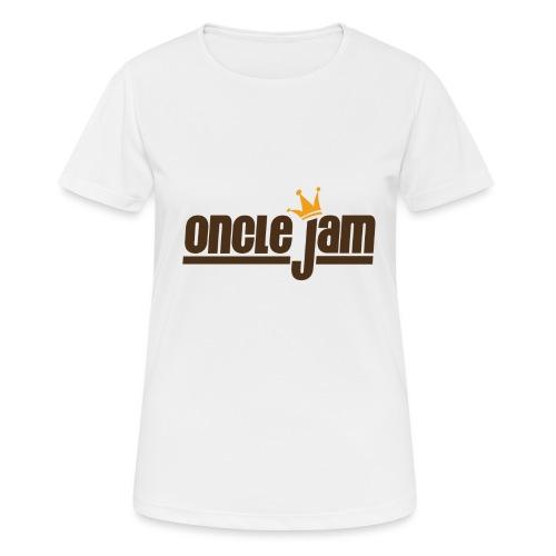 Oncle Jam horizontal brun - T-shirt respirant Femme
