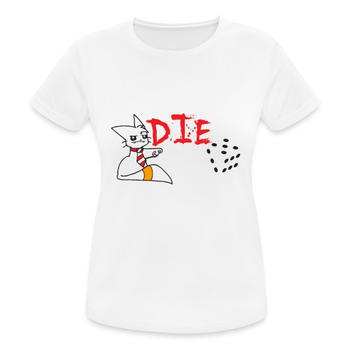 DIE - Women's Breathable T-Shirt