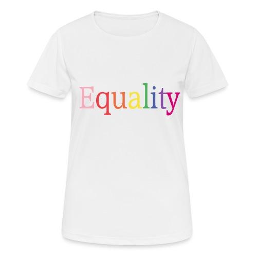 Equality | Regenbogen | LGBT | Proud - Frauen T-Shirt atmungsaktiv