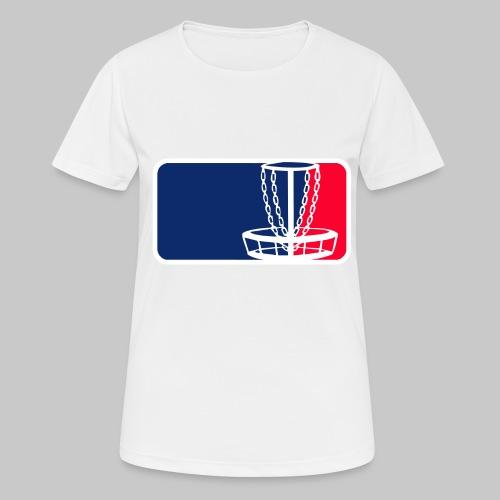Disc golf - naisten tekninen t-paita
