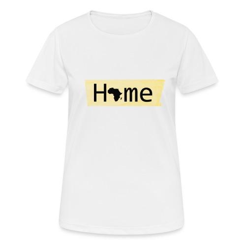 home in africa - Frauen T-Shirt atmungsaktiv