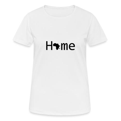 Sweet Home Africa - Frauen T-Shirt atmungsaktiv
