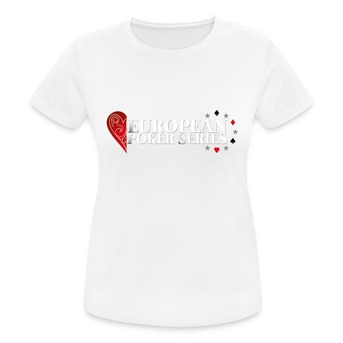 European Poker Series - T-shirt respirant Femme