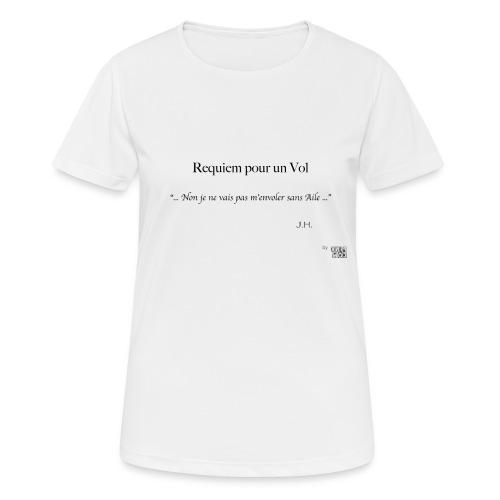 REQUIEM - T-shirt respirant Femme