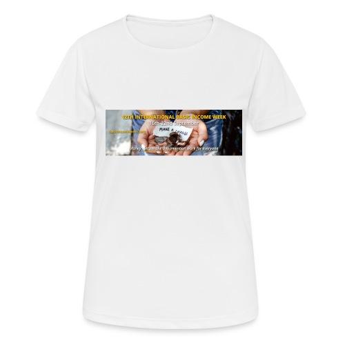 BIW-Cover - Vrouwen T-shirt ademend actief