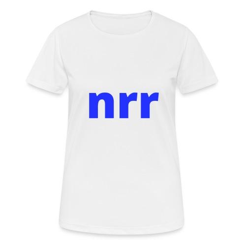 NEARER logo - Women's Breathable T-Shirt