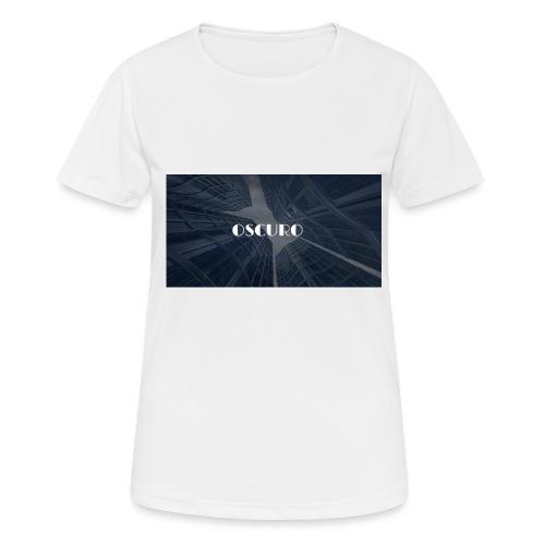 COPERTINA ALBUM OSCURO - Maglietta da donna traspirante