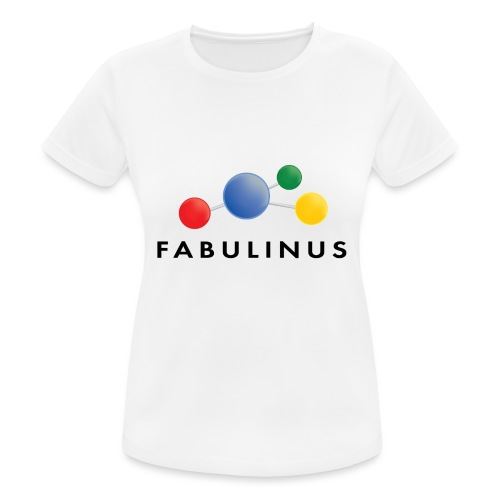 Fabulinus Zwart - vrouwen T-shirt ademend