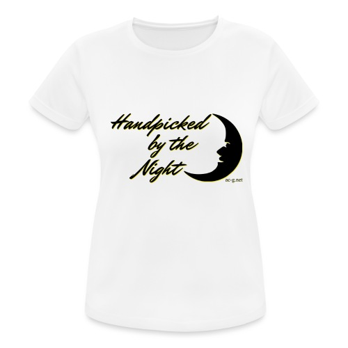 Handpicked design By The Night - Logo Black - Women's Breathable T-Shirt