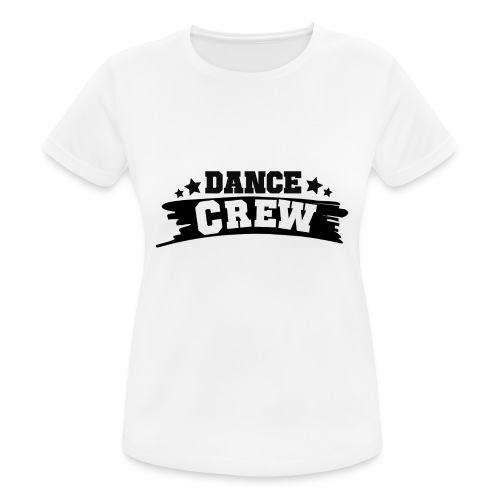 Tshit_Dance_Crew by Lattapon - Dame T-shirt svedtransporterende