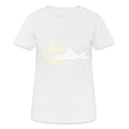 Zebra Keeper - T-shirt respirant Femme