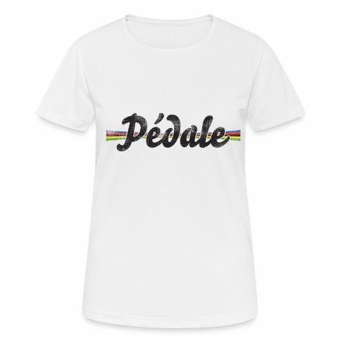 pedale wk - Vrouwen T-shirt ademend actief