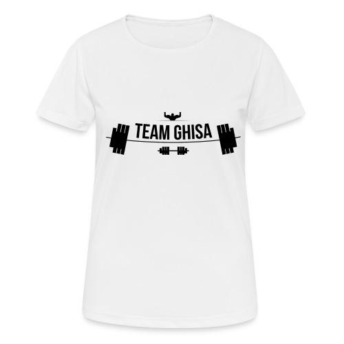 TEAMGHISALOGO - Maglietta da donna traspirante