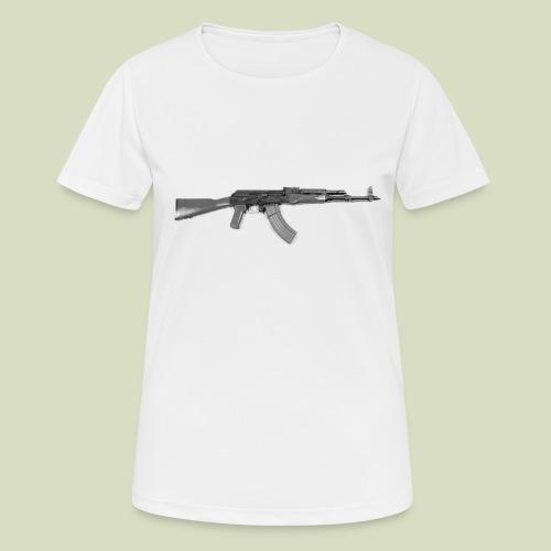 AK - naisten tekninen t-paita