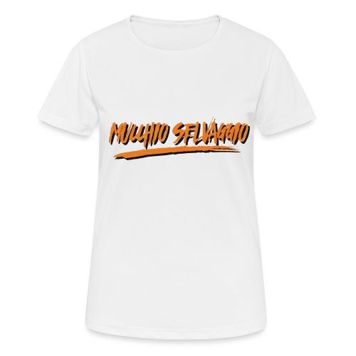 Mucchio Selvaggio 2016 Dirty Orange - Maglietta da donna traspirante
