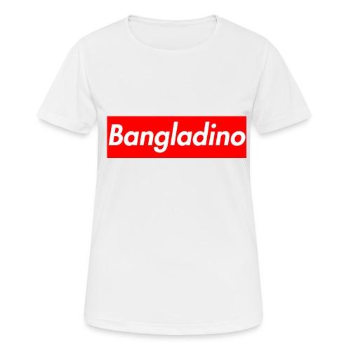 Bangladino - Maglietta da donna traspirante