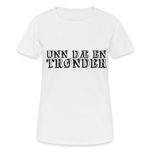 unndae - Pustende T-skjorte for kvinner