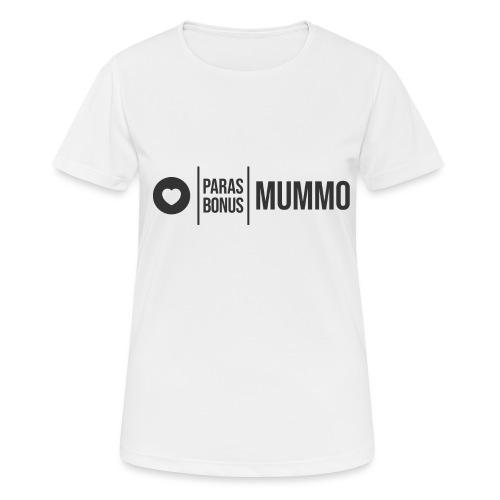 Bonusmummo 1 - naisten tekninen t-paita