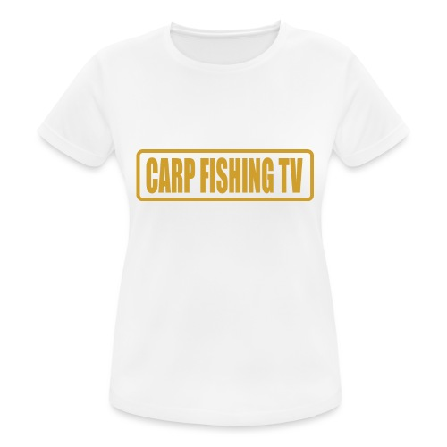 carpfishing-tv - Maglietta da donna traspirante