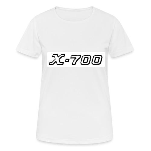 Minolta X-700 White - Maglietta da donna traspirante