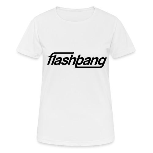 FlashBang Enkel - 100kr Donation - Andningsaktiv T-shirt dam