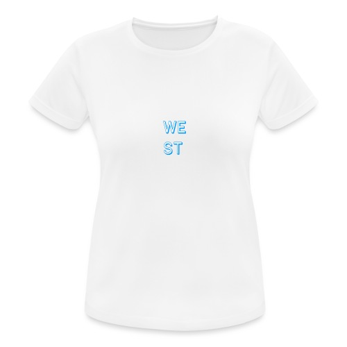 WEST LOGO - Maglietta da donna traspirante