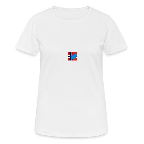 NorPot SAS ACE - Pustende T-skjorte for kvinner