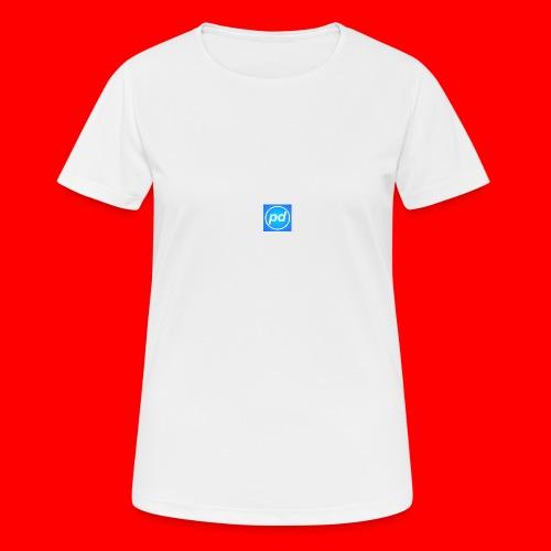 pd Blue V2 - Dame T-shirt svedtransporterende