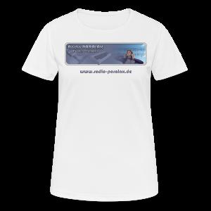 Radio PARALAX Classic-Logo mit Webadresse - Frauen T-Shirt atmungsaktiv