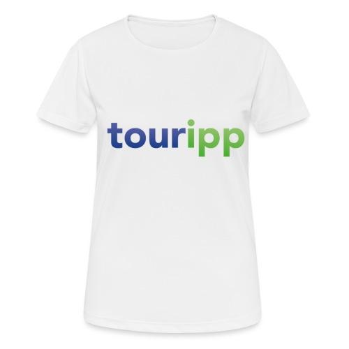 Touripp - Maglietta da donna traspirante