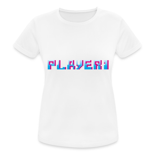 Arcade Game - Player 1 - Women's Breathable T-Shirt