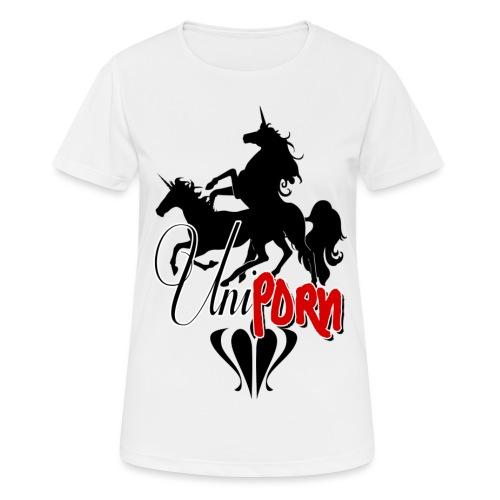 Uniporn - Frauen T-Shirt atmungsaktiv