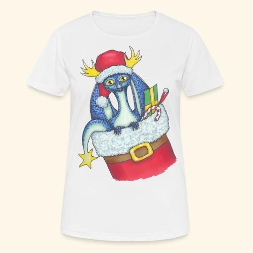 Juldrake - Andningsaktiv T-shirt dam