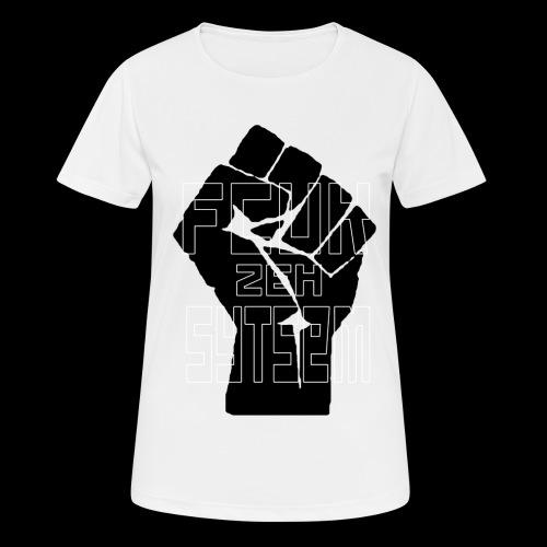 fcuk zeh sytsem - Vrouwen T-shirt ademend actief