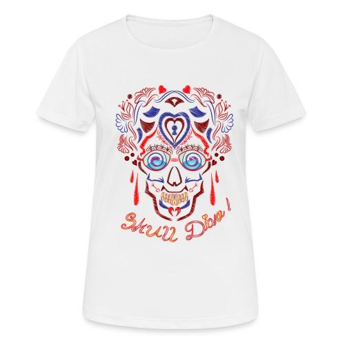 Skull Tattoo Art - Women's Breathable T-Shirt