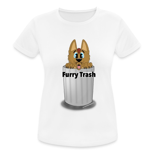 Furry Trash - Dame T-shirt svedtransporterende