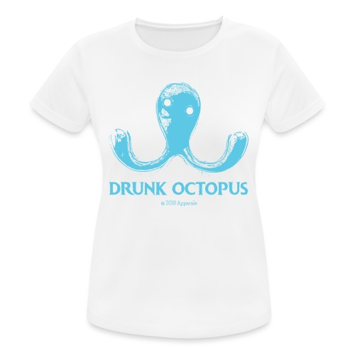 Drunk Octopus - Women's Breathable T-Shirt