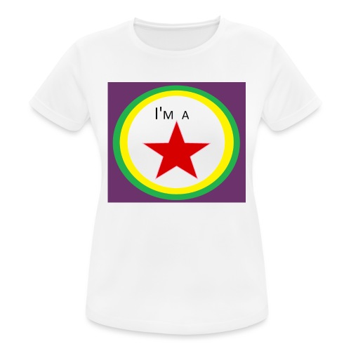 I'm a STAR! - Women's Breathable T-Shirt